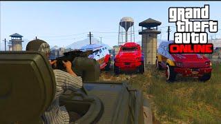 getlinkyoutube.com-ATTAQUE DE LA PRISON - GTA 5 ONLINE