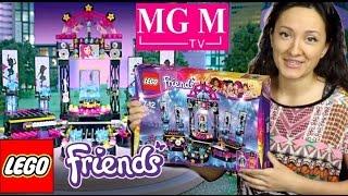 getlinkyoutube.com-На сцену вместе с героями Лего! Собираем набор LEGO FRIENDS Popstar френдс / подружки