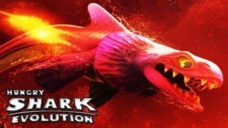 getlinkyoutube.com-Hungry Shark Evolution - New Space Portal Map