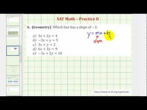 SAT Math (Geometry) - Practice 2.6
