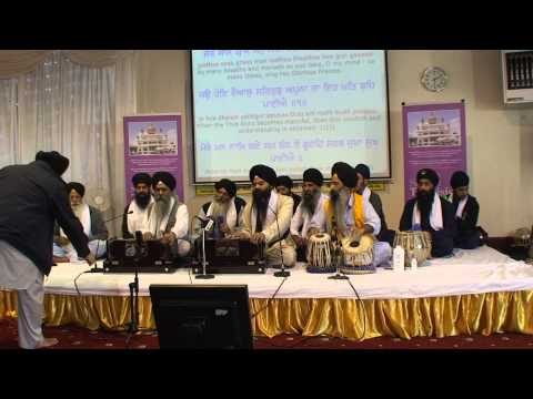 Bhai Nanak Singh - Derby Smagam 2014 Friday evening