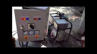 getlinkyoutube.com-รีวิวเครื่องปั่นไฟ 3 เฟส 10KVA (6KW) โดยทีมงานช่างเลือก