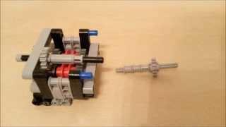 getlinkyoutube.com-Lego Technic 4 Speed Gearbox Instruction