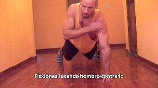 getlinkyoutube.com-37 Tipos de flexiones // Push up variations