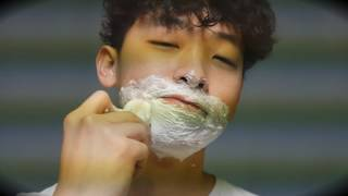 [korean ASMR] Morning shave / 외출 전 면도