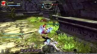getlinkyoutube.com-Dragon Nest「2014」- [Lancea] Flurry vs Gladiator