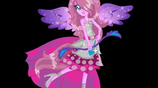 getlinkyoutube.com-Speed paint - Princess music melody my oc (equestria girls friendship games)