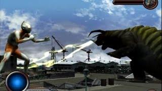 Ultraman PS2 (Story Mode Part 3) Ultraman vs Neronga
