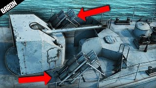 getlinkyoutube.com-Russian Jet Powered Naval Bombs - War Thunder Ships Gameplay