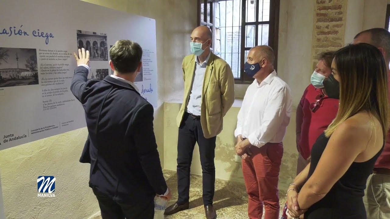 Aún pueden visitar la muestra «Paseo Poético por Andalucía. Imagen y verso»