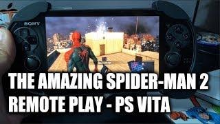 "getlinkyoutube.com-""The Amazing Spider-Man 2"" Remote Play on PS Vita"