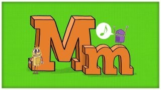 "getlinkyoutube.com-ABC Song: The Letter M, ""The Mighty M"" by StoryBots"