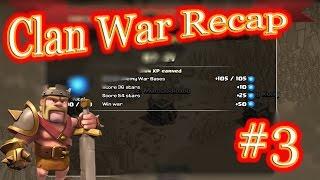 Clan War Recap Episode #3 | GoVaHo, Mass Hogs, Mass Valks, Lavaloonion & GoHoVaWi