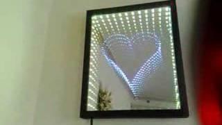 getlinkyoutube.com-Heart Infinity Mirror-www.Infinitymirrorart.com