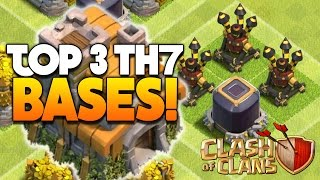 getlinkyoutube.com-Clash Of Clans - TOP 3 TH7 FARMING BASE w/3 Air Defenses! - CoC BEST TOWN HALL 7 DEFENSE 2016!