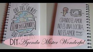 getlinkyoutube.com-DIY: AGENDA MISTER WONDERFUL   BACK TO SCHOOL ♥ Laura Yanes