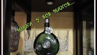 getlinkyoutube.com-RECICLANDO BOTELLA DE VIDRIO.....