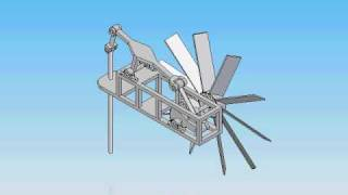 "modified version of ""wind-powered water pump"""