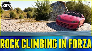 getlinkyoutube.com-Forza Horizon 2 : ROCK CLIMBING IN FORZA!!! (Best Out Of Map Glitch Yet)