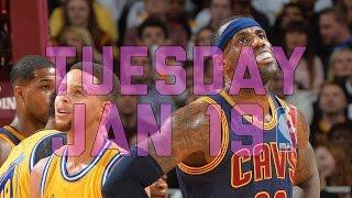 getlinkyoutube.com-NBA Daily Show: Jan. 19 - The Starters