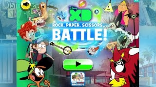 getlinkyoutube.com-Disney XD: Rock, Paper, Scissors... Battle! - Beat The Disney XD Heroes & Villains (Gameplay)