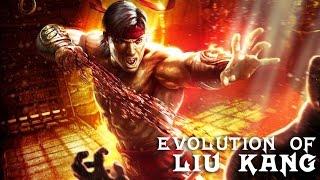 Evolution of Liu Kang in Mortal Kombat (1992-2017)