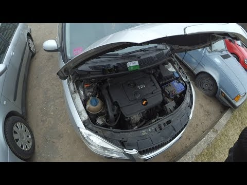 Где находится у Skoda Октавия А5 натяжной ролик ремня генератора