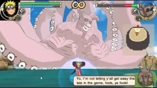 getlinkyoutube.com-นารูโตะ(โหมดเซียน) vs 8หาง psp naruto ultimate ninja impact