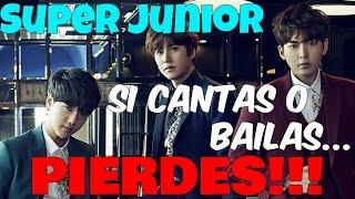 getlinkyoutube.com-Super Junior SI CANTAS o BAILAS PIERDES!! / Super Junior Try not to Sing!!!