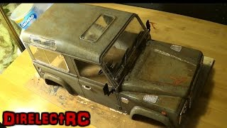 "getlinkyoutube.com-RC body ""Weathering"" how to make a more realistic looking body - DirelectRC"