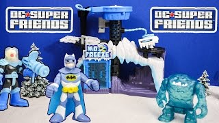 getlinkyoutube.com-IMAGINEXT DC Heroes Batman Mr Freeze Play Set a Imaginext Batman Video Toy Review