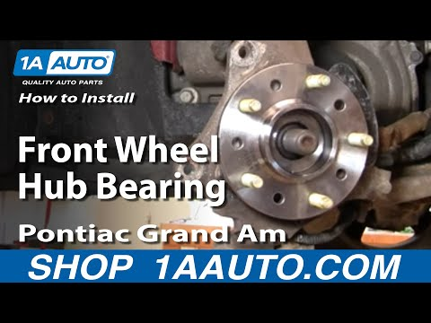 How to Replace Wheel Bearing & Hub Assembly 99-05 Pontiac Grand Am
