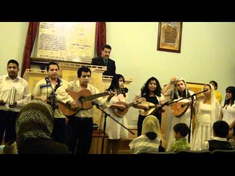 Iglesia de Dios (Israelita) POPURRY DE CANTOS. GRUPO ADMISHADAR.