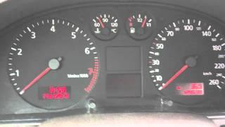 getlinkyoutube.com-Audi A4 Instrument Cluster problem (1.8T quattro, B5, 2000)
