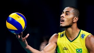 getlinkyoutube.com-Top 10  Best Volleyball Spike | Ricardo Lucarelli (Brazil Volleyball)