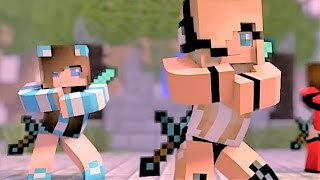 getlinkyoutube.com-Psycho Girl 1-4 The Complete Minecraft Music Video Series - Minecraft Songs and Minecraft Animation
