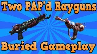 """getlinkyoutube.com-""""Black Ops 2 Buried"""" Two PAP'd Rayguns At Once Tutorial! Insane Gameplay! (""""Black Ops 2 Zombies"""")"""