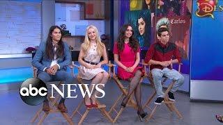 getlinkyoutube.com-'Descendants' Disney Original Movie: FULL cast interview