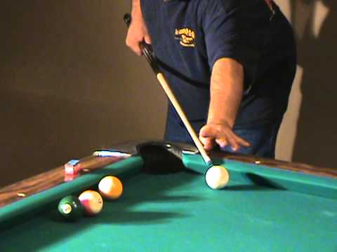 Pool Billiards Instruction, How to stand and Bridge hand.