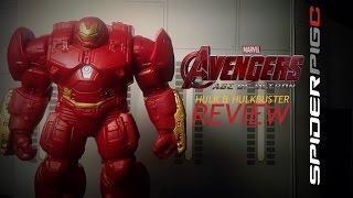 getlinkyoutube.com-Hasbro Avengers Age of Ultron Hulk & Hulkbuster 2-Pack Review