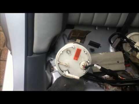 Jaguar X Type Fuel Pump Change