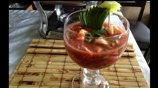 getlinkyoutube.com-Coctel de camaron  Deliciosa receta