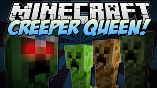 getlinkyoutube.com-Minecraft | CREEPER QUEEN! (The Ultimate Creeper Boss!) | Mod Showcase [1.6.2]