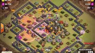 getlinkyoutube.com-trik serangan lava balon th 10 wajib di tonton