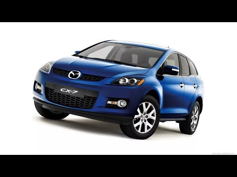 Mazda CX-7. Снятие и установка фары и замена всех ламп, передней оптики.