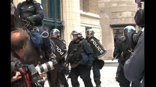 Montreal's P 6 bylaw a model for Repression in Canada