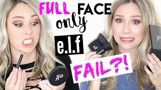 getlinkyoutube.com-FULL FACE USING ONLY E.L.F. PRODUCTS - FAIL?!