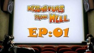 getlinkyoutube.com-Český Let's Play Neighbours From Hell E01: Tady začíná show