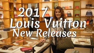 getlinkyoutube.com-Louis Vuitton 2017 New Releases | Close ups | MOD Shots | Measurements