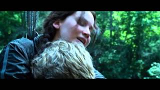 getlinkyoutube.com-The Hunger Games | Katniss and Peeta | Young Love | Kiss scenes | About 74th Hunger Games|